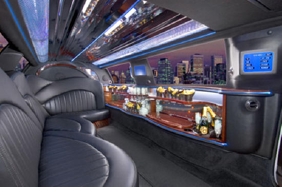 inside the limos