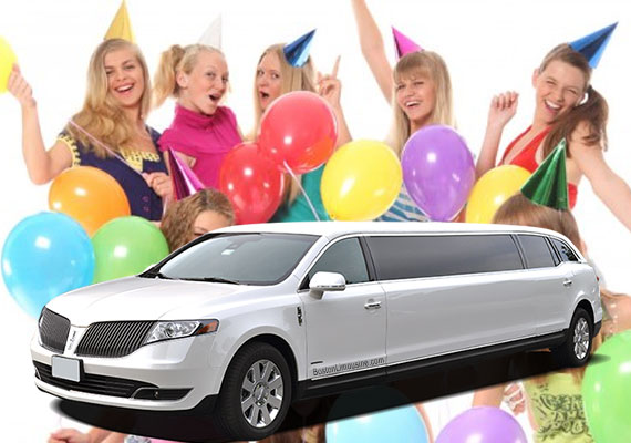 Birthday Party Limo Rental