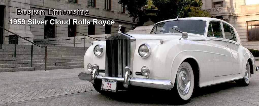 Classic Car Wedding Rental Boston Antique Rolls Royce Car Ma