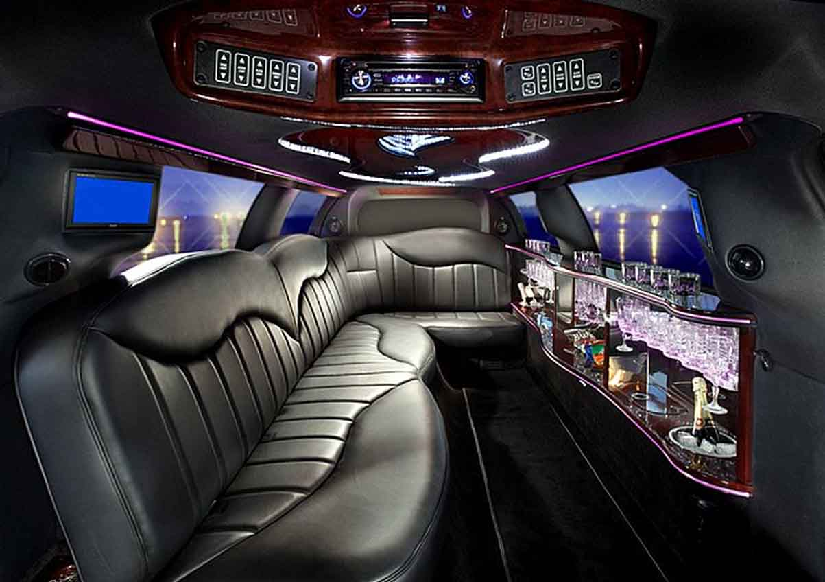 Stretch Limo 6 Passengers Boston Limousine Lincoln Stretch