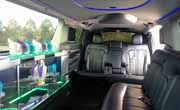 Stretch Lincoln Limo Inside